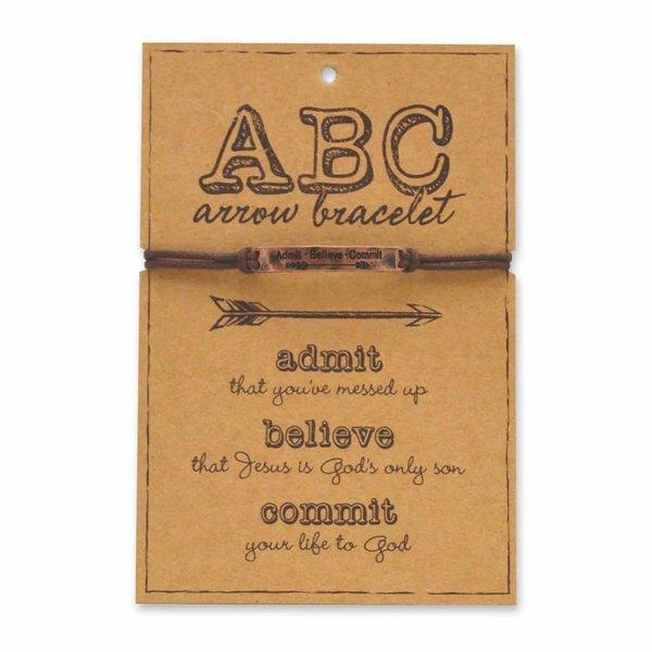 ABC'S Of Faith Copper Christian Bracelet