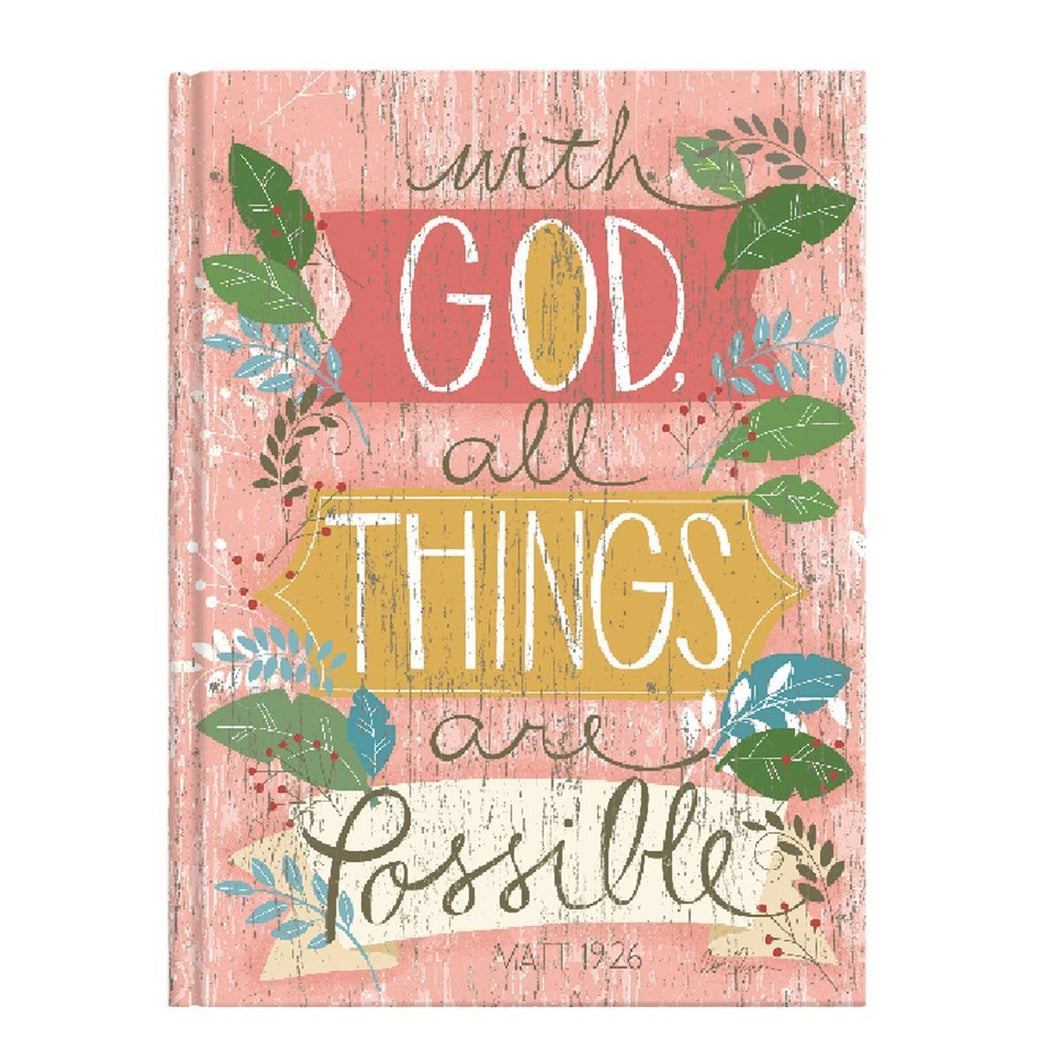 All Things Are Possible Journal - Atrio Hill