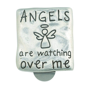 Angel Christian Visor Clip