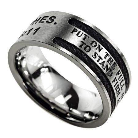 Armor Of God Cable Ring