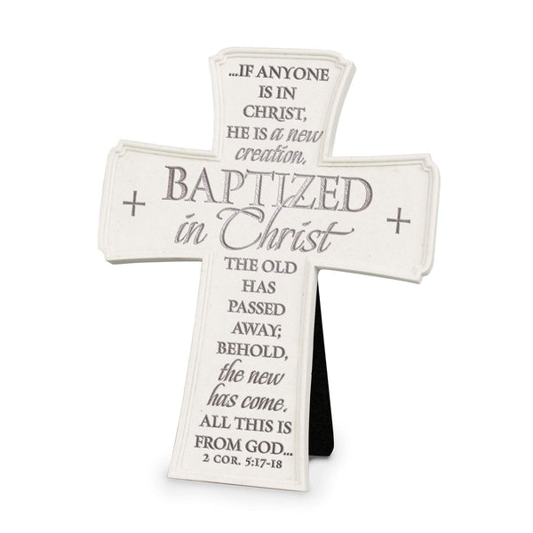 Baptized In Christ Tabletop Cross