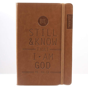 Be Still And Know That I Am God Psalm 46:10 Journal