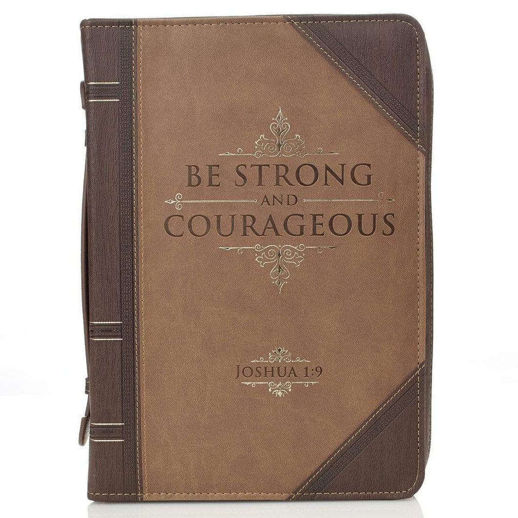 Be Strong And Courageous Joshua 1:9 Bible Cover