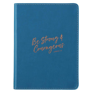 Be Strong And Courageous Joshua 1:9 Journal - Atrio Hill