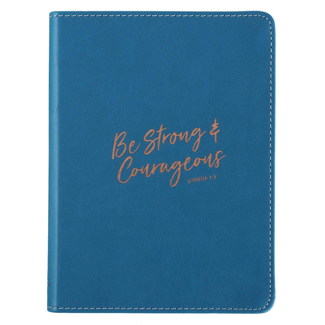 Be Strong And Courageous Joshua 1:9 Journal