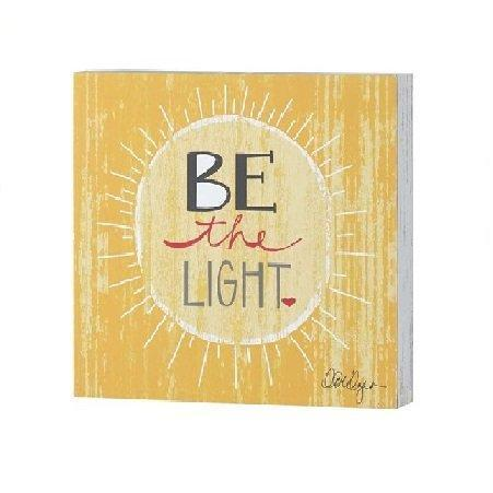 Be The Light Plaque