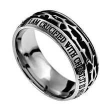 Crown Of Thorns Ring Crucified With Christ