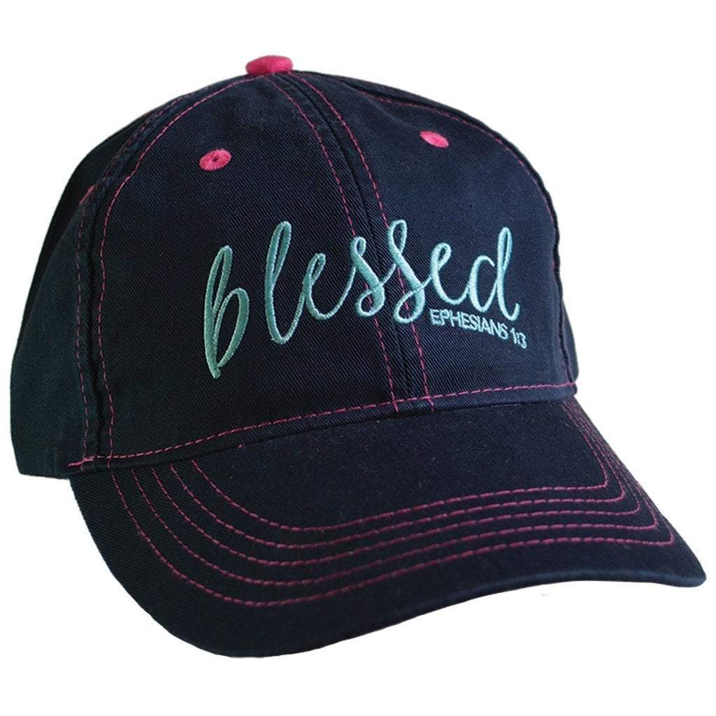 Denim Blessed Ball Cap