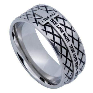 Diamond Back True Love Waits Ring