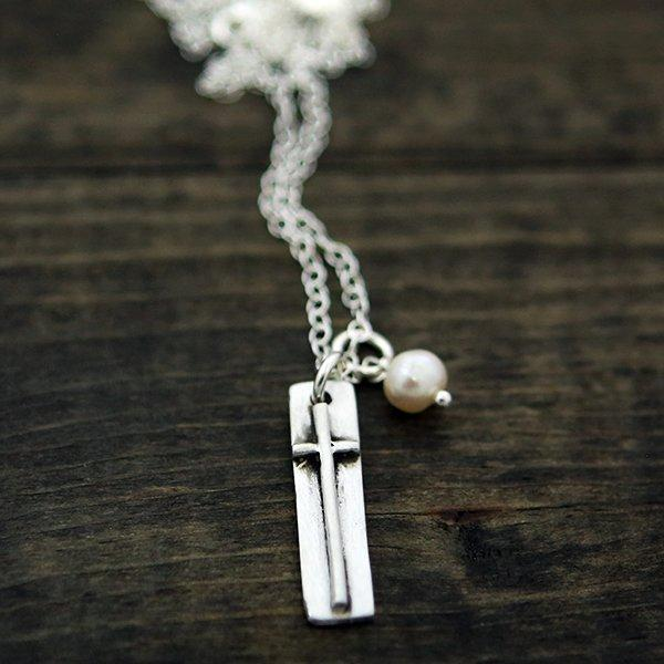 Faith Of A Mustard Seed Cross Necklace - Atrio Hill