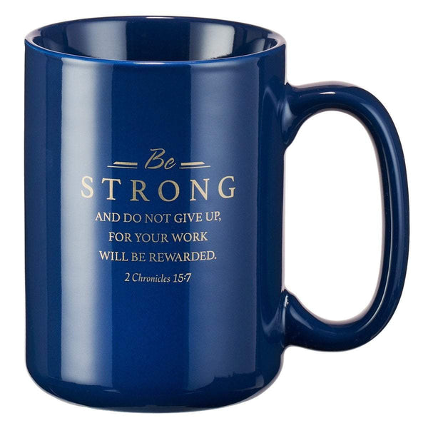 Faithful Servant Stoneware Scripture Coffee Mug