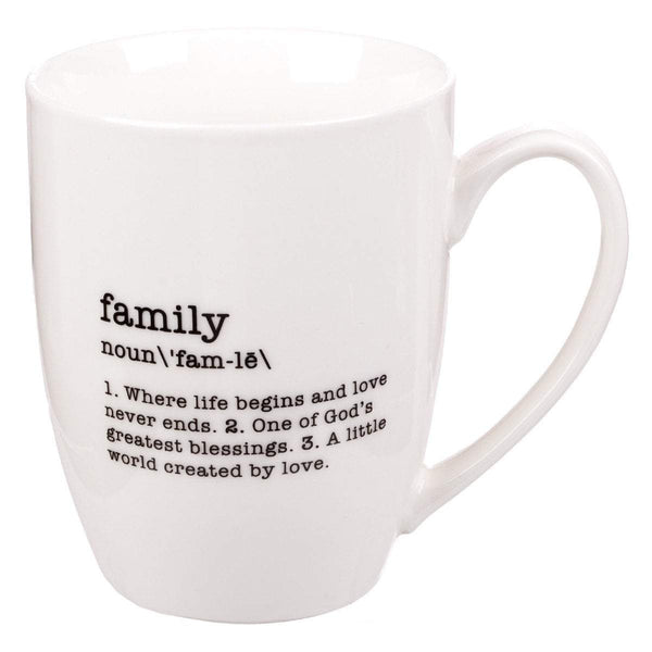 Family Noun Coffee Mug