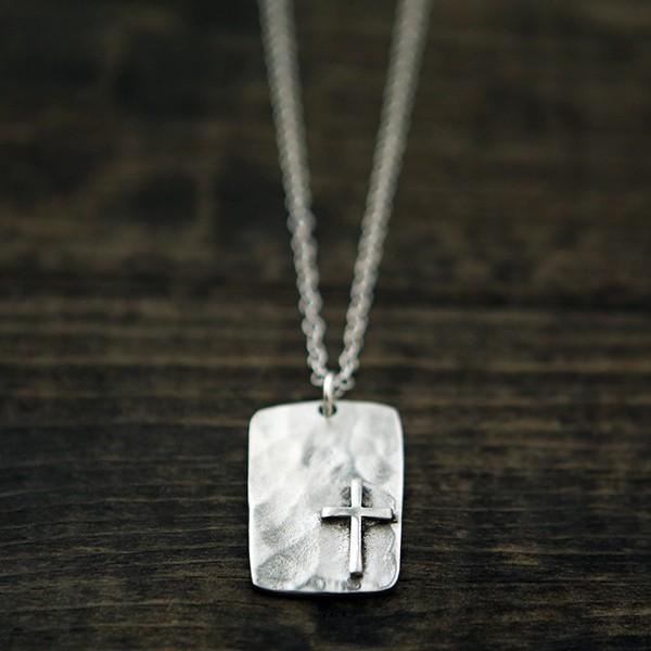 For I Know The Plans I Have For You Cross Necklace