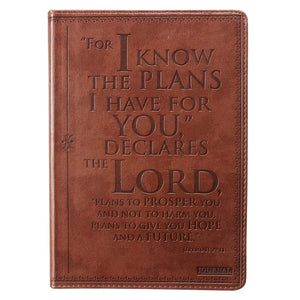 For I Know The Plans Jeremiah 29:11 Christian Journal