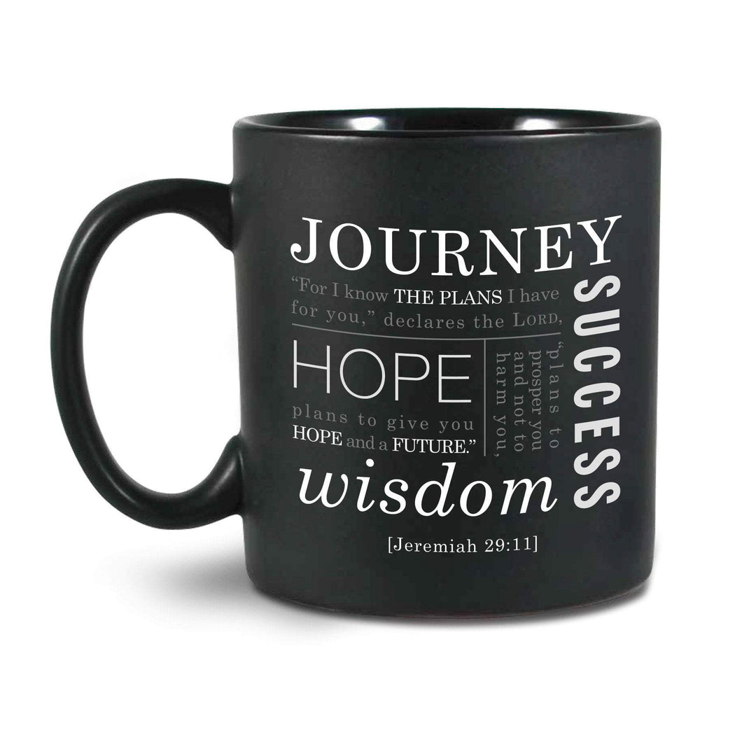 For I Know The Plans Scripture Coffee Mug