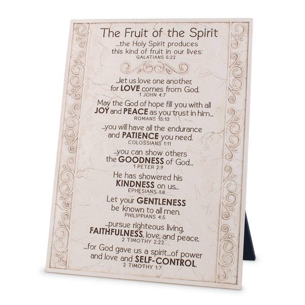 Fruit Of The Spirit Scripture Plaque