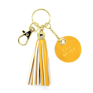 Full Of Joy Tassel Keychain