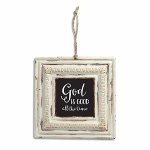 God Is Good All The Time Vintage Tin Sign