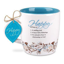 Happy Definition Scripture Coffee Mug