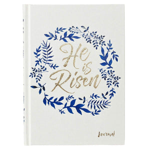 He Is Risen Hardcover Journal - Atrio Hill
