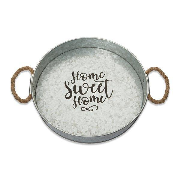 Home Sweet Home Metal Serving Tray