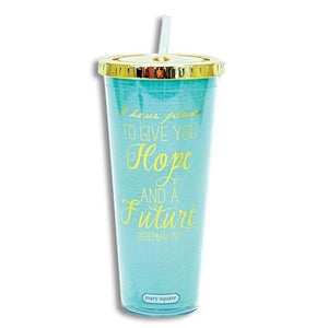 Hope And Future Bible Verse Tumbler - Atrio Hill