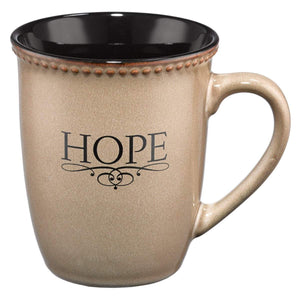 Hope Coffee Mug With Scripture