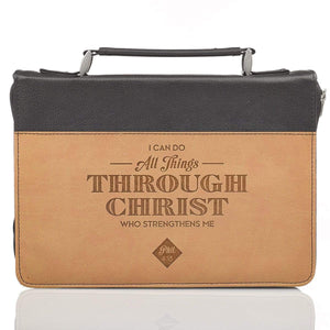 I Can Do All Things Through Christ Philippians 4:13 Bible Cover