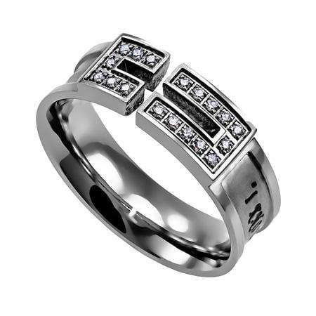 I Know The Plans Jeremiah 29:11 Canale Cross Ring