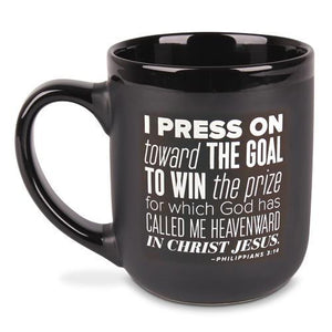 I Press On Toward The Goal Coffee Mug