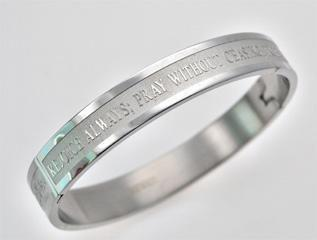 In All Things Give Thanks Bangle Bracelet