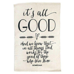 It's All Good Bible Verse Wall Rug - Atrio Hill
