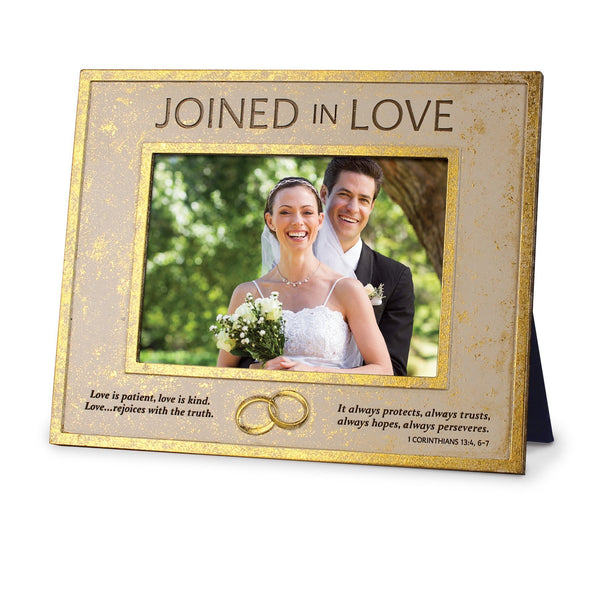 Joined In Love Bible Verse Photo Frame