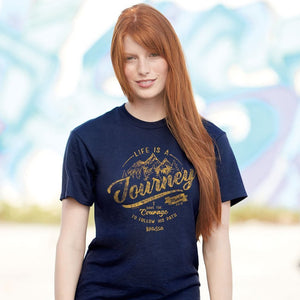 Life Is  A Journey Christian T-Shirt
