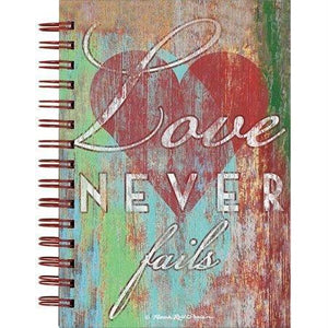Love Never Fails Journal