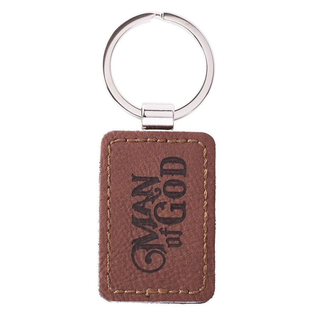Man Of God 1 Timothy 6:11 Keychain
