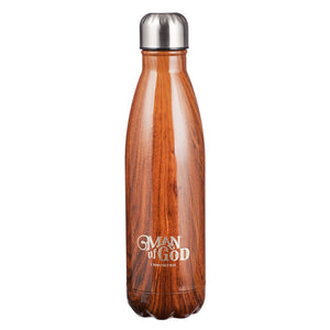 Man Of God - 1 Timothy 6:11 Stainless Steel Water Bottle