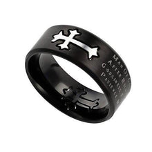 Man Of God Black Neo Ring