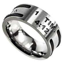 Men's True Love Waits Cable Ring
