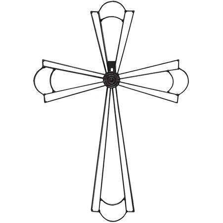 Metal Wall Cross