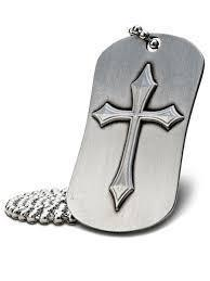 Philippians 4:13 Dog Tag Necklace
