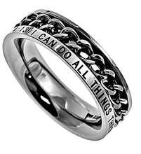 Philippians 4:13 Women's Chain Ring