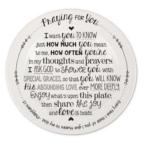 Praying For You Giving Plate