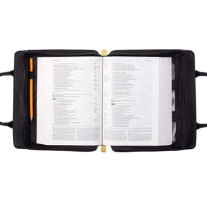 Purse Style Bible Cover In Black