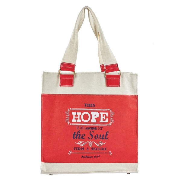 Retro Blessings Hope Tote Bag