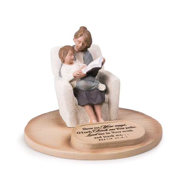 Show Me Your Ways, O Lord Mom With Son Sculpture