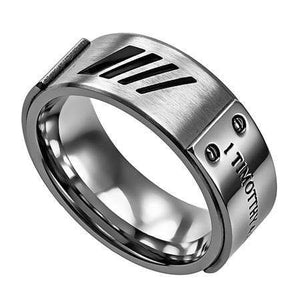 Silver MLX True Love Waits Ring
