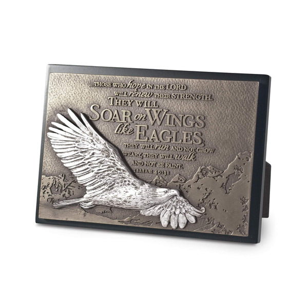 Soar On Wings Like Eagles Plaque