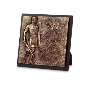 Armor Of God Sculpture Plaque - Atrio Hill