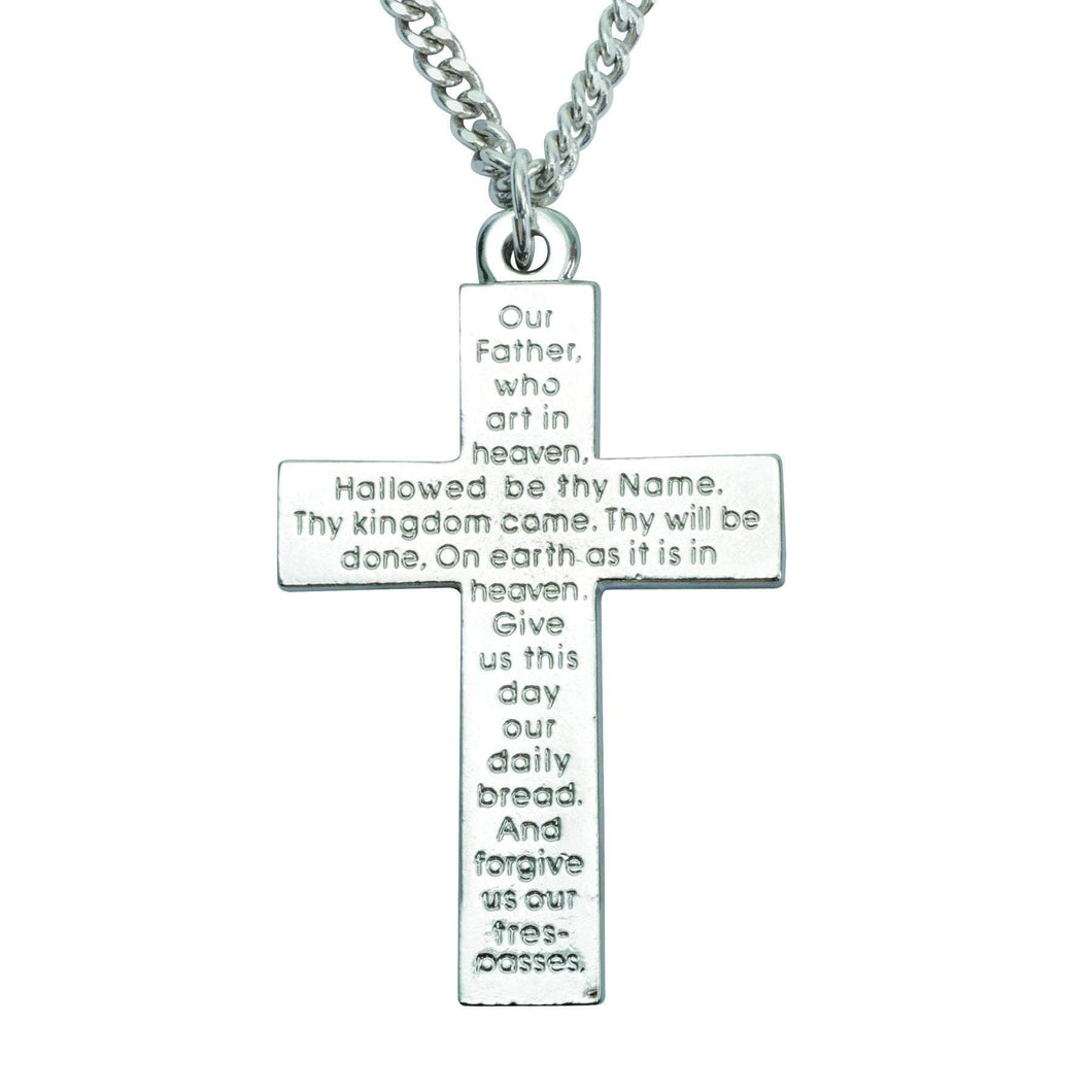 The Lord's Prayer Cross Necklace